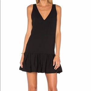 Worn once Amanda Uprichard Carrie dress in black